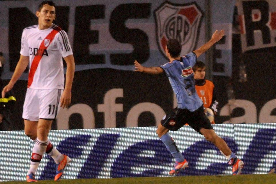 Equipo del calcio perdio 1- 2 con A.C. Belgrano