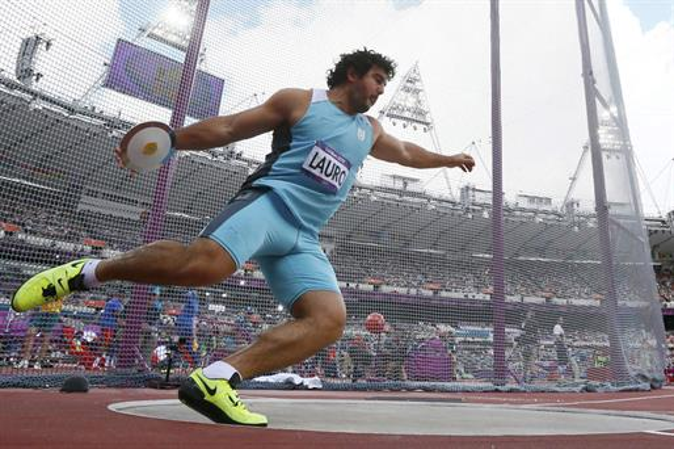 Calendario argentino en los Juegos Olimpicos 2012