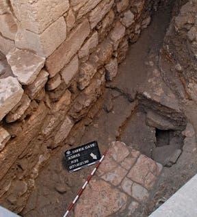 Hallan la calle principal de Jerusalén de la época bizantina