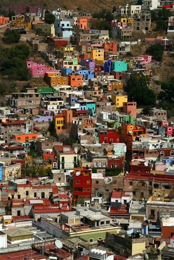 Por los callejones de Guanajuato