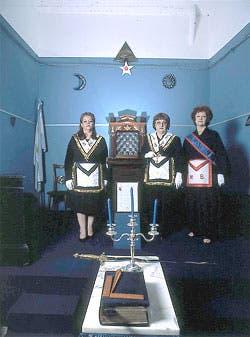 Masonería, también cosa de mujeres